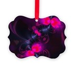 Abstract Pink Rose Fairy Flower Picture Ornament