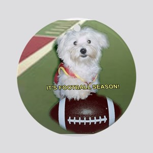 It's Football Season Ornament (Round)
