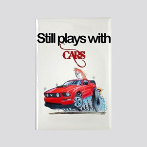 StillPlaysWithCars Rectangle Magnet