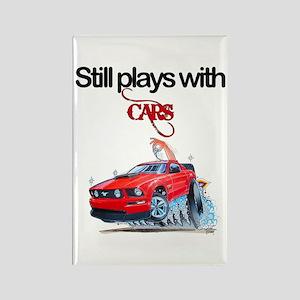 StillPlaysWithCars Rectangle Magnet