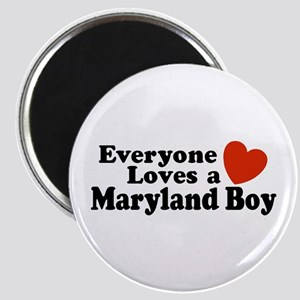 Everyone Loves a Maryland Boy Magnet
