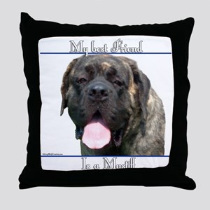 Brindle 18 Throw Pillow