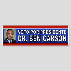 CARSON POR PRESIDENTE Bumper Sticker