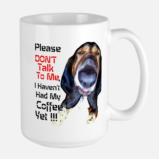 Grumpy Hound Large Mug