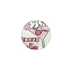 Dirty Girltini (For the Girls) Mini Button (10 pac