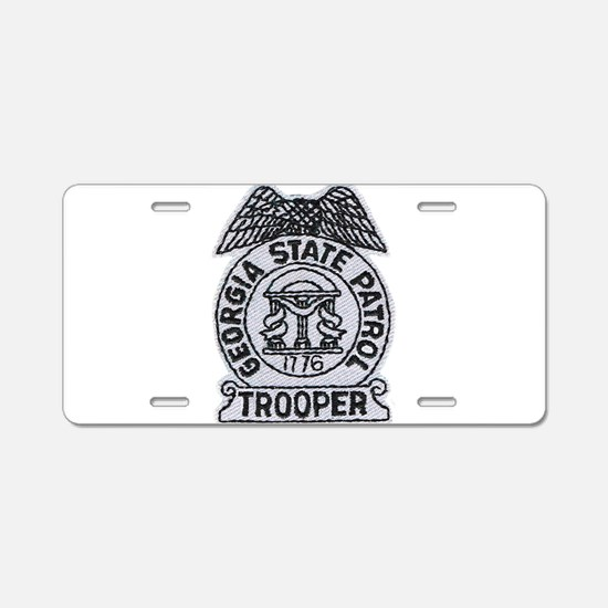 Cute Patrol Aluminum License Plate
