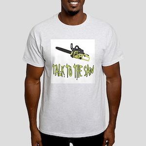 The Saw Ash Grey T-Shirt