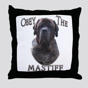 Brindle 9 Throw Pillow