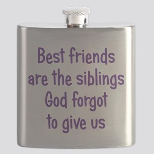 God and Best Friends Flask