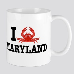 I Love Maryland Mug