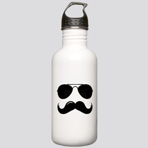 Macho Mustache Stainless Water Bottle 1.0L