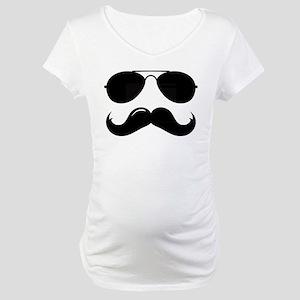 Macho Mustache Maternity T-Shirt