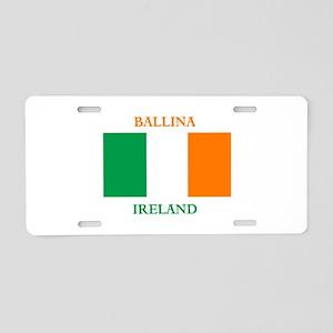 Ballina Ireland Aluminum License Plate