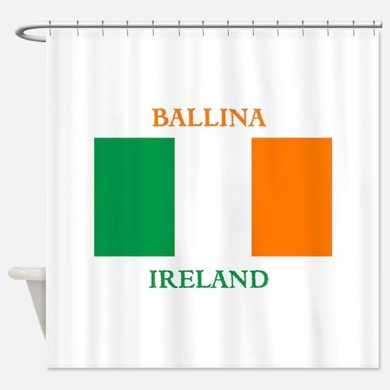 Ballina Ireland Shower Curtain