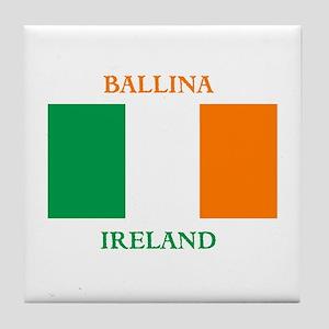 Ballina Ireland Tile Coaster