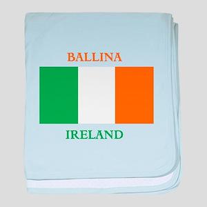 Ballina Ireland baby blanket
