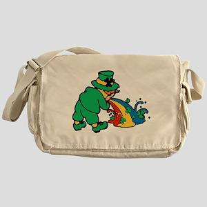 drunk-leprechaun Messenger Bag