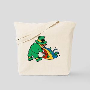 drunk-leprechaun Tote Bag
