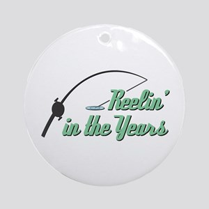 Reelin' in the Years Ornament (Round)