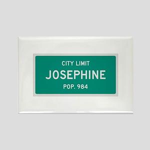 Josephine, Texas City Limits Rectangle Magnet