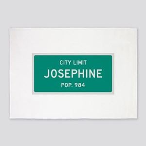 Josephine, Texas City Limits 5'x7'Area Rug