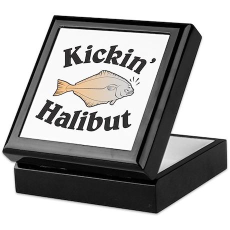 Kickin' Halibut Keepsake Box