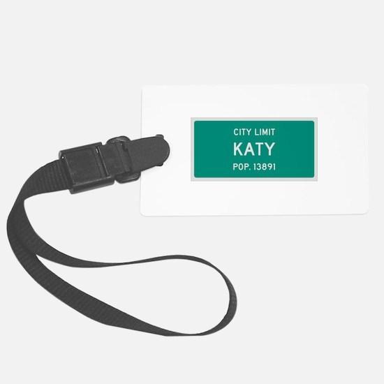 Katy, Texas City Limits Luggage Tag