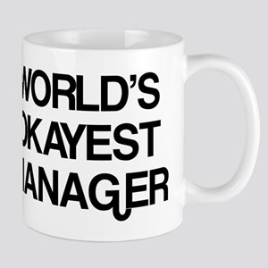 World's Okayest Manager Mug