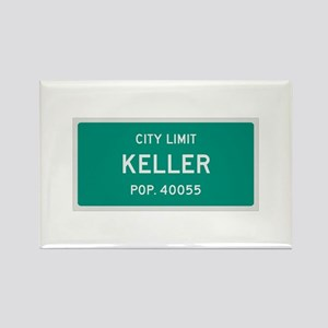 Keller, Texas City Limits Rectangle Magnet
