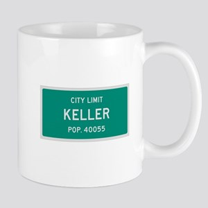 Keller, Texas City Limits Mug