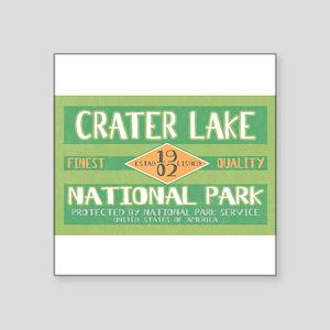 Crater Lake National Park (Retro) Sticker