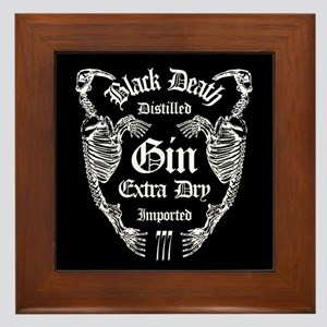 Walrus Bone Gin Framed Tile