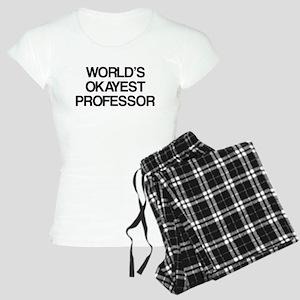 World's Okayest Professor Women's Light Pajamas