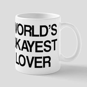 World's Okayest Lover Mug