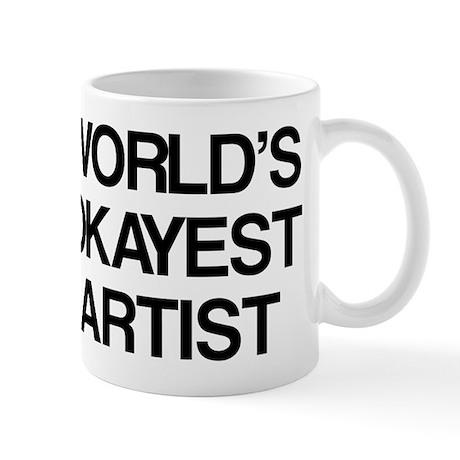 World's Okayest Artist Mug