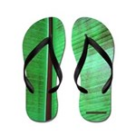 Tropical Banana Leaf Flip Flops