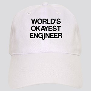 World's Okayest Engineer Cap