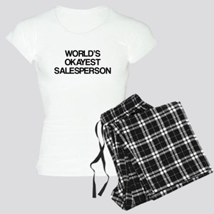 World's Okayest Salesperson Women's Light Pajamas