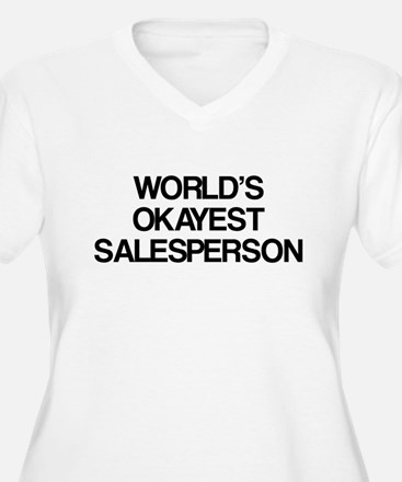 World's Okayest Salesperson T-Shirt