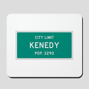 Kenedy, Texas City Limits Mousepad