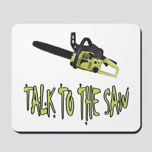 The Saw Mousepad