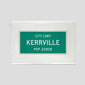 Kerrville, Texas City Limits Rectangle Magnet