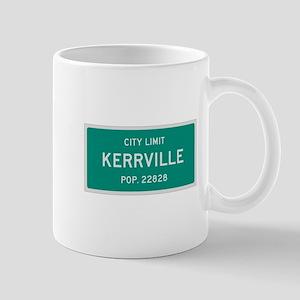 Kerrville, Texas City Limits Mug