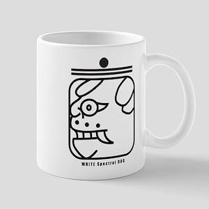 WHITE Spectral DOG Mug