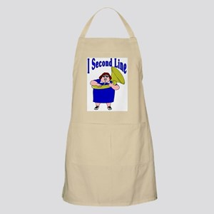 I Second Line BBQ Apron