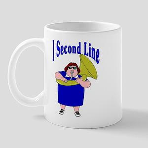 I Second Line Mug
