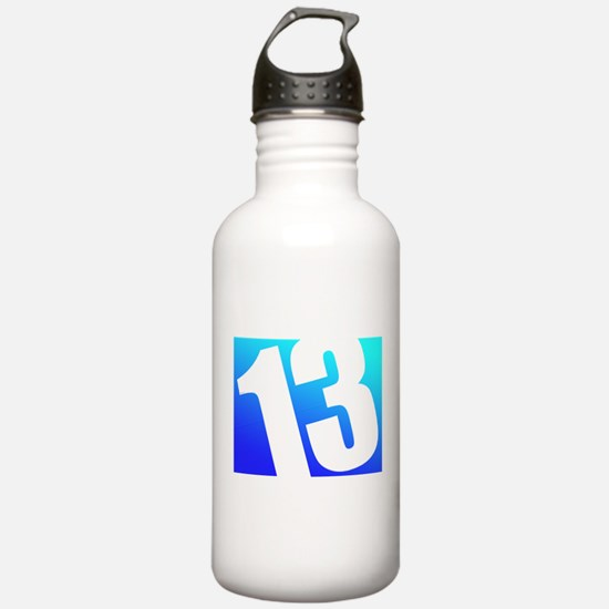 Number 13 Water Bottle