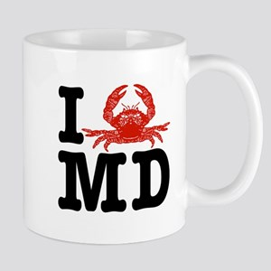 I Love MD (maryland)  Mug