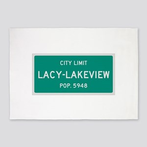 Lacy-Lakeview, Texas City Limits 5'x7'Area Rug