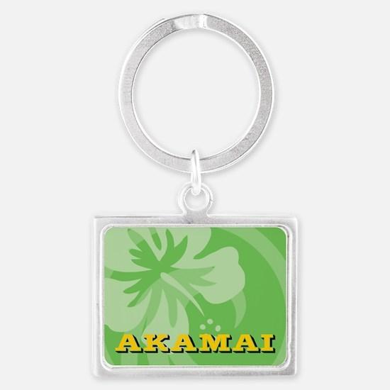 Akamai Landscape Keychain